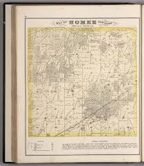 Illinois Township Map by Homer Township Town 36 N Range 11 E Will County Illinois