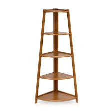 Corner Bookcase Cherry 22 Corner Ladder Shelves Black 3 Tier Corner Ladder Shelf