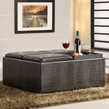 Teal Chair And Ottoman Sofa Teal Storage Ottoman Leather Tufted Ottoman Ottoman With