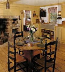 Primitive Dining Room Tables 204 Best A Primitive Kitchen U0026 Dining Area Images On Pinterest