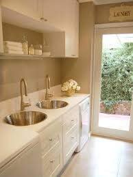 Laundry Room In Bathroom Ideas 10 Clever Storage Ideas For Your Tiny Laundry Room Hgtv U0027s