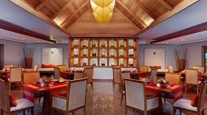 baan cuisine baan restaurant sheraton maldives resort