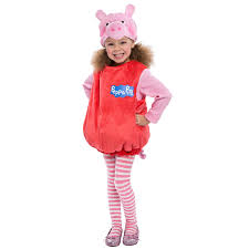halloween clothes for toddler girls buy deluxe peppa pig toddler costume