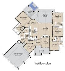 Plan 4 by Craftsman Style House Plan 4 Beds 3 50 Baths 2482 Sq Ft Plan
