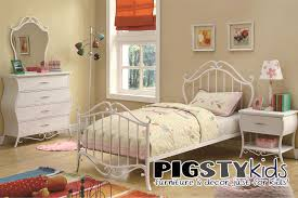 twin beds for girls modern white pink girls bedroom design with