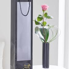 Single Rose In A Vase Single Pink Rose Vase June The Florist Southportjune The Florist