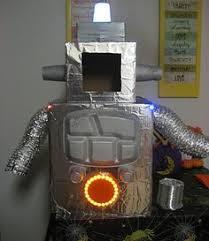 Kids Robot Halloween Costume Cute Homemade Robot Costume Child Robot Costumes Robot