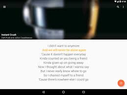 Bad Apple Lyrics Quicklyric Instant Lyrics Android Apps On Google Play