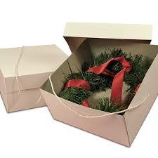 hat boxes wreath boxes two box