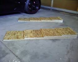 lowered cars diy jack ramps for lowered cars my350z com nissan 350z and