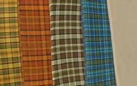Plaid Curtain Material Green S Volkswagen Westfalia Cer Page
