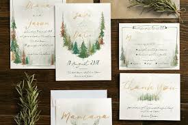 forest wedding invitations watercolor forest wedding invitation invitation templates