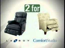 La Z Boy Recliner 2 by La Z Boy 2 For 1 Sale Youtube