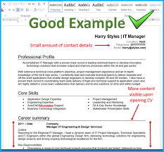 cv template word total jobs 4 ways to make the most of your cv s top quarter totaljobs