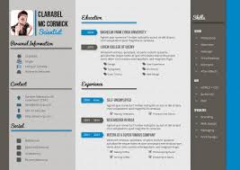 Best Resume Template For Ipad by Design Haven Creative Resume And Cv Template G1 A4 Landscape