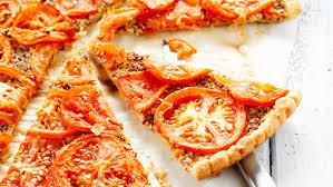 cuisiner des tomates s h s tarte à la tomate et à la moutarde facile et pas cher recette sur