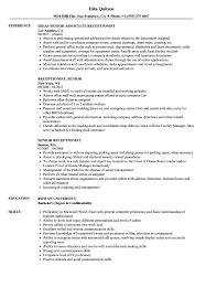 resume exles for receptionist hotel front desk clerk resume sle office manager exles