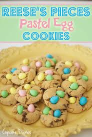 reese easter egg chocolate cadbury mini egg cookies cupcake diaries
