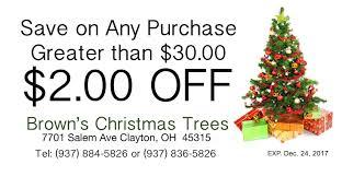 brown s christmas tree a brown sons christmas trees
