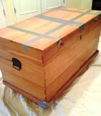 diy cedar chest makeover the steen style