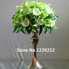 Metal Vases For Centerpieces by Online Get Cheap Flower Vases Tall Metal Aliexpress Com Alibaba