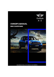 2012 mini countryman owners manual just give me the damn manual