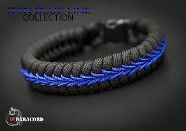 paracord bracelet images Police thin blue line stitched fishtail paracord bracelet surf jpg