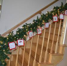 Banister Christmas Garland Decorating Captivating Christmas Hallway Decor Ideas Kropyok
