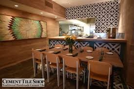 Restaurant Tile Commercial Projects Cement Tile Shop Blog