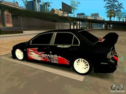 mitsubishi lancer wallpaper phone mitsubishi lancer evolution viii for gta san andreas