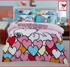 Snoopy Bed Set Snoopy Bedding Ebay