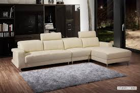 Bedroom Corner Sofa Casablanca Genuine Leather Corner Sofa White Sofa U0026 Ottoman