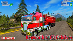 2016 kenworth cabover kenworth k100 cabover v1 0 for fs 17 download fs 17 mods for