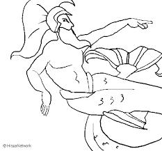 imagenes de zeus para dibujar faciles dibujo de poseidón para colorear dibujos net