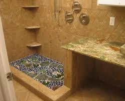 Bathroom Shower Floor Ideas Pebble Shower Floor For Beautify Your Bathroom Flooring Flooring