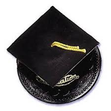 graduation cap cake topper black graduation cap hat cake topper kit cupcake candy cookie