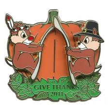 thanksgiving pins your wdw store disney thanksgiving pin 2011 chip n dale