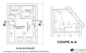 norme handicapé chambre plan salle de bain handicapé élégant taille plan de travail 6 avec