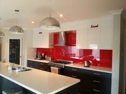 Red Kitchen Lights red kitchen splashback best decision ever for the home