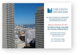 cox castle u0026 nicholson u0027s san francisco office relocation