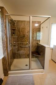 Bathroom Designs With Walk In Shower Jh100 After 0414 Complete Bathrooms Grab Bars And Bath Remodel