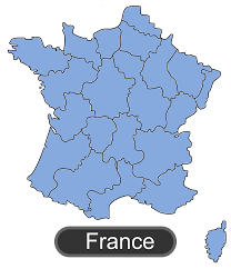 France Map Outline by Clipart Map Of France