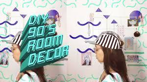 diy 90 u0027s geometric room decor organizer youtube