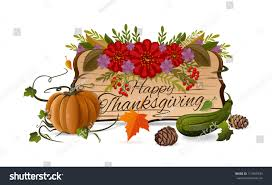 thanksgiving day design autumn still life stock vector 717469333