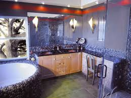 likewise bathroom design with river rock on rock bathroom design