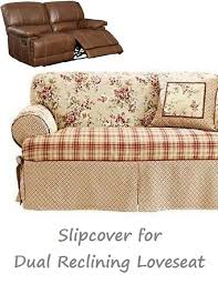 Slipcover For Dual Reclining Sofa 106 Best Slipcover 4 Recliner Images On Pinterest