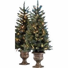 lowes deal ge 2 pack 4 ft cambridge pine pre lit artificial