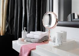 Turn Your Bathroom Into A Spa - turn your bathroom into a rose gold at home spa lc living