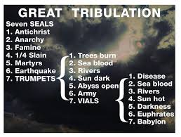 7 year great tribulation after rapture of the church