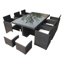 canape de jardin en resine tressee pas cher salon de jardin r sine tress e 8 12 places vasto salons resine